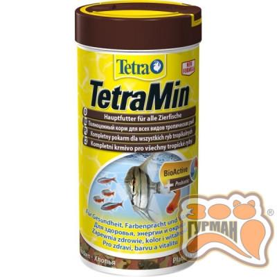Tetra MIN 1 л стандарт хлопья основной корм /762725