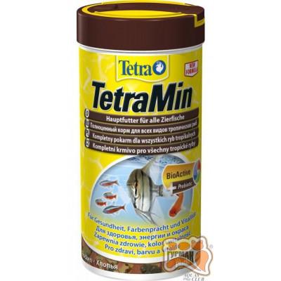 Tetra MIN 250 мл хлопья основной корм /762718