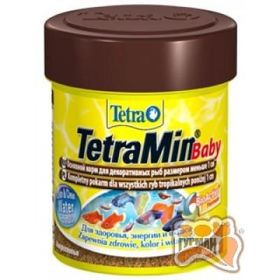 Tetra MIN BABY 66 мл основной корм обогащенный протеином /764804