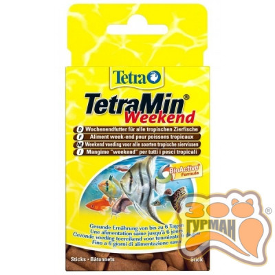 купити TetraMIN WEEKEND Sticks блоки 20шт в Одеси