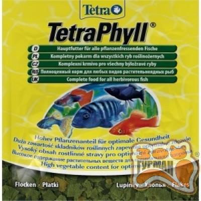 купити Tetra PHYLL Корм пластівці рослинні 12 гр в Одеси