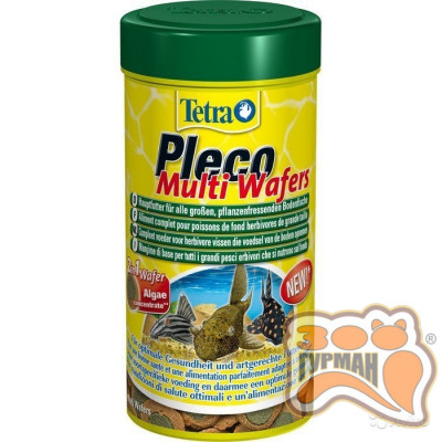Tetra PLECO Multi Wafers 250мл /189652