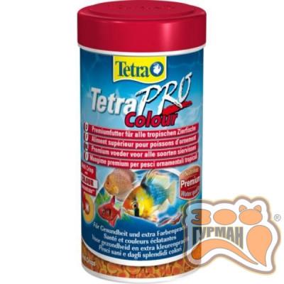купити Tetra PRO Colour Crisps 250мл премиум корм для окраса /140677 в Одеси