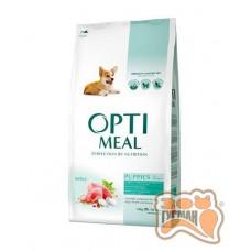 Optimeal (Оптимил) сухой корм для щенков всех пород индейка