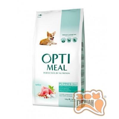купити Optimeal (Оптимил) сухой корм для щенков всех пород индейка в Одеси