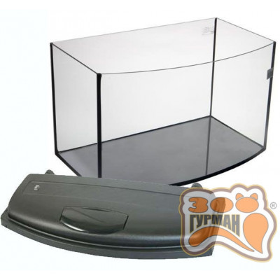 купити Комплект О-30 аквариум овал (450*235*360)+крышка RGB в Одеси