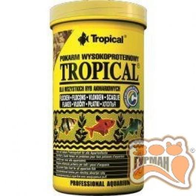 Tropical 250мл/50g(хлопья) корм с высоким содержанием белка 77024