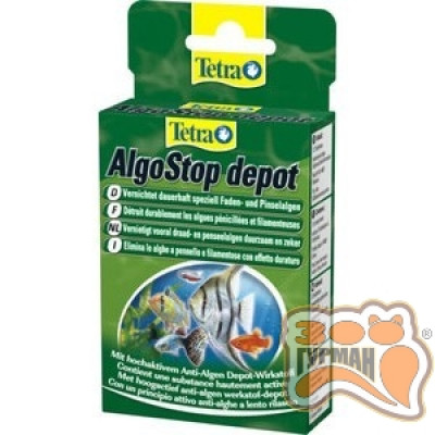 купити Tetra ALGOSTOP depot Таблетки проти водоростей тривалої дії 12 таблеток в Одеси