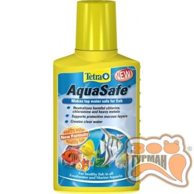 купити Tetra AQUA SAFE 100ml для подготовки воды на 200 л. /762732 в Одеси