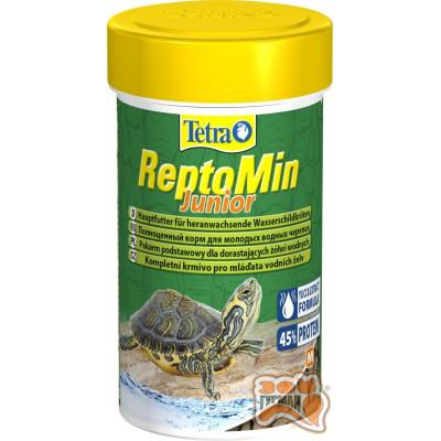 Tetra ReptoMin Junior 100 мл корм для мол. черепах /140158