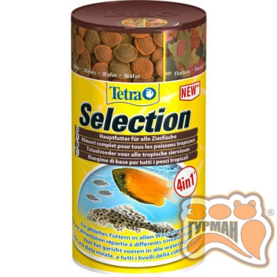Tetra Selection 250ml микс кормов /247574