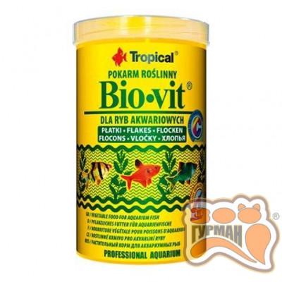 купити Tropical Bio-vit 500мл(хлопья)растит. корм для всех видов рыб 77015 в Одеси