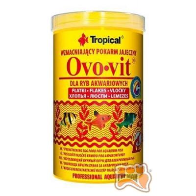 купити Tropical Ovo-vit 1000мл (хлопья) с выс.содерж. яичного желтка для всех видов рыб 77036 в Одеси