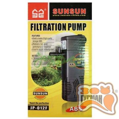 Фильтр SUNSUN JP012F (3w 0.6m 300l/h) до 50л