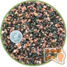 Грунт аквар. NZ 10 кг. черно/розовый мелкий 2-5мм
