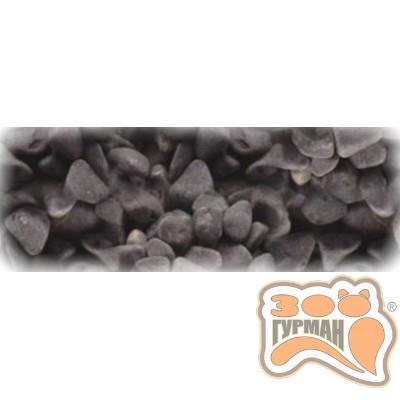 Грунт натуральный Черный гравий 20кг (6-8мм) 5854