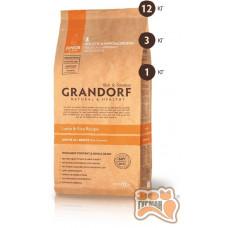 Grandorf Junior - ягненок с рисом для юниоров с 4 месяцев