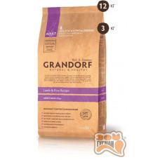 Grandorf Adult Large Breed ягненок с рисом для взрослых собак крупных пород