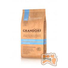 Grandorf White Fish & Rice All Breeds - белая рыба для взрослых собак всех пород