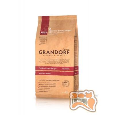 купити Grandorf Duck & Potato All Breeds с уткой для взрослых собак всех пород в Одеси