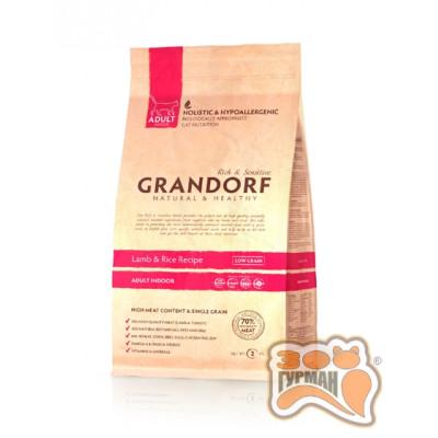 купити Grandorf Lamb & Rice ADULT INDOOR - ягненок с рисом для взрослых кошек в Одеси