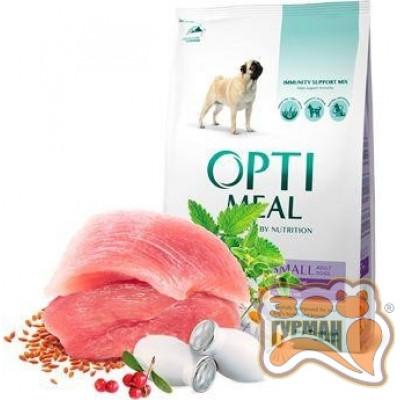 купити Optimeal (Оптимил)  сухой корм для взрослых собак малых пород, с уткой в Одеси