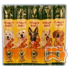 Allegro dog колбаски для собак c курицей, 10г