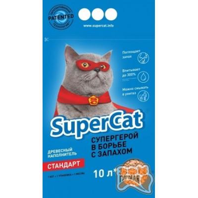 SuperCat Суперкот древесный наполнитель