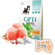 Optimeal (Оптимил) сухой корм для взрослых собак крупных пород с курицей