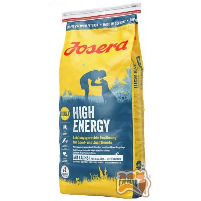 Josera (Йозера, Жозера) High Energy, корм для активных собак 15кг