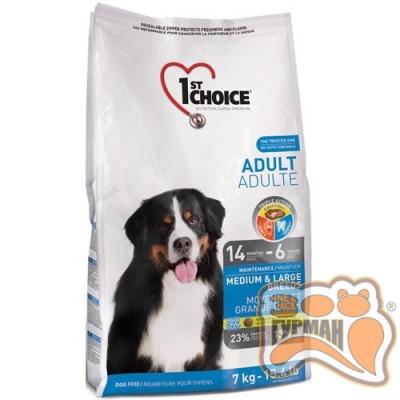 1st Choice (Фест Чойс) с курицей для взрослых собак средних и крупных пород
