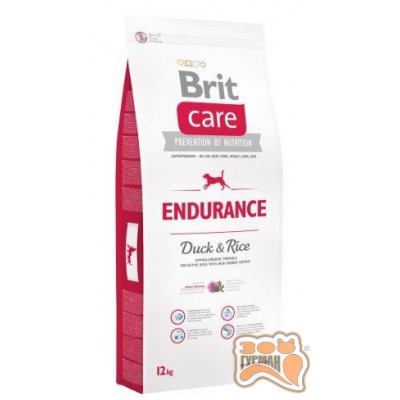 купити Brit Care (Брит Кеа) ENDURANCE - корм для собак с повышенными физическими нагрузками (утка/рис) в Одеси
