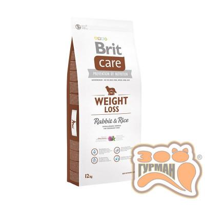 Brit Care (Брит Кеа) WEIGHT LOSS - корм для собак с избыточным весом (кролик/рис)