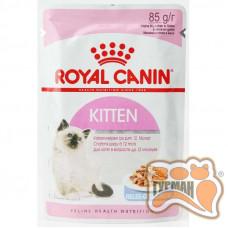 Royal Canin Kitten Instinctive  корм для кошенят віком до 12 місяців шматочки в желе