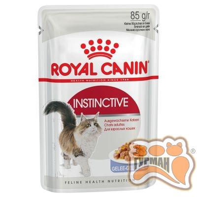 Royal Canin Instinctive корм для кошек старше 1 года желе