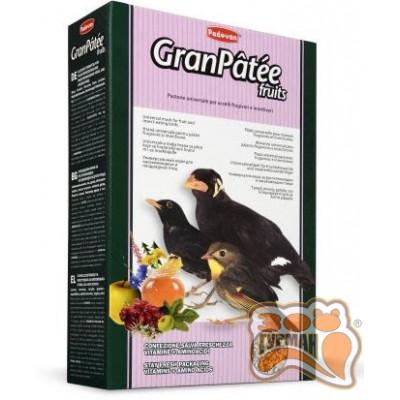 PADOVAN Granpatee fruits корм для насекомоядных и плодоядных птиц 1кг