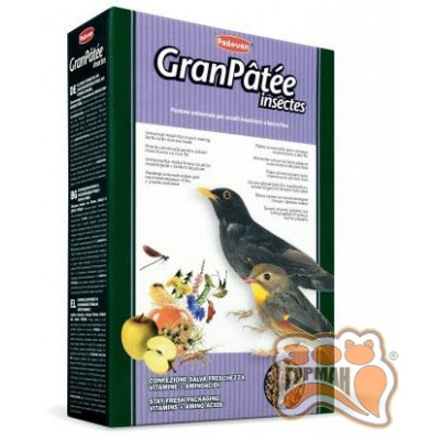 купити PADOVAN Granpatee insectes корм для насекомоядных птиц 1 кг в Одеси