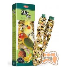 PADOVAN Stix fruit parrocche палочки для средних попугаев 100 г