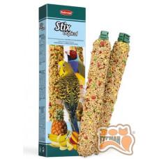 PADOVAN Stix tropic cocorite палочки для волнистых попугаев и амадинов 80 г