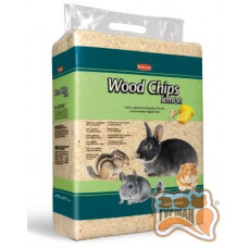 PADOVAN Wood chips lemon гигиенический наполнитель