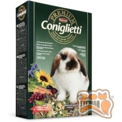 купити PADOVAN PREMIUM CONIGLIETTI комплексный корм для декоративных кроликов в Одеси