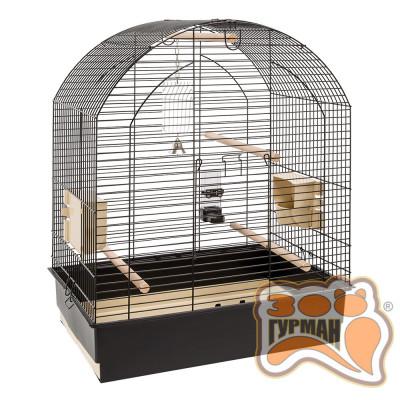 купити Ferplast CAGE GRETA BLACK клетка для корелл и волнистых попугайчиков в Одеси