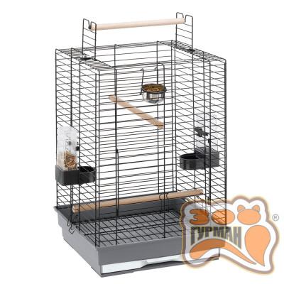купити Ferplast CAGE MAX 4 BLACK клетка для попугаев, со съемной крышей в Одеси