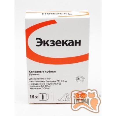 купити Экзекан для кошек и собак от аллергических дерматитов, 1 брикет в Одеси