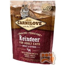 Carnilove Cat Raindeer Energy & Outdoor с мясом северного оленя для взрослых активных кошек