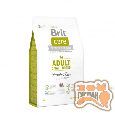 купити Brit Care (Брит Кеа) ADULT SMALL BREED Lamb & Rice - корм для собак мелких пород (ягненок/рис) в Одеси