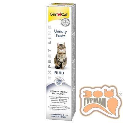 купити GimCat Expert Line Urinary Paste Паста для профілактики сечокам'яної хвороби у котів 50 г в Одеси
