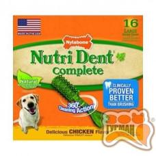 Nylabone NutriDent лакомства для чистки зубов средних и крупных собак 1шт