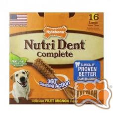 Nylabone Nutri Dent НИЛАБОН НУТРИ ДЕНТ ФИЛЕ МИНЬОН жевательное лакомство для чистки зубов собак до 23 кг, 1шт