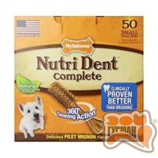 Nylabone Nutri Dent Small НИЛАБОН НУТРИ ДЕНТ ФИЛЕ МИНЬОН лакомство для чистки зубов собак до 7 кг, филе миньон, 1шт
